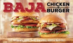 Image: Baja Chicken and Burger - Cheeseburger Bobby's