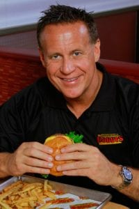 Image: Robert Stoll, founder of Cheeseburger Bobby's - Cheeseburger Bobby's